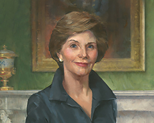 Mrs. Laura Bush: 'Free people around the world must stand with Afghan women' - George W. Bush Presidential Center